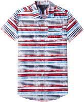 Tommy Hilfiger Short Sleeve Printed Shirt Boy's Clothing