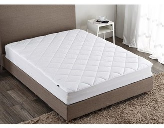 "Pure Down Puredown Down Alternative Mattress Pad/Topper-Fitted-Quilted-Queen(60X80""), 100%Cotton Top and Bottom"