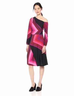 Trina Turk Women's Event One Cold Shoulder Midi Dress