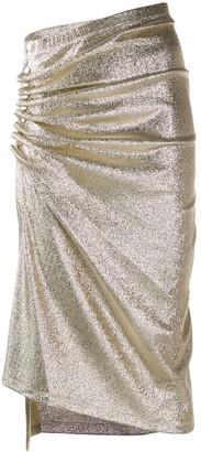 Paco Rabanne glitter detail skirt