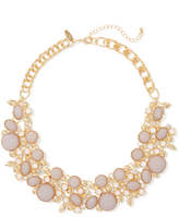 New York & Co. Beaded Cluster Statement Necklace