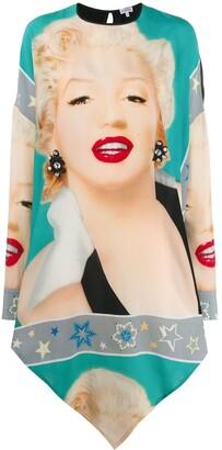 Loewe Marilyn Monroe print dress