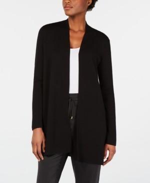Eileen Fisher System Merino Wool Long Cardigan