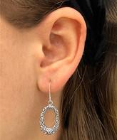 Sevil 925 Women's Earrings - Sterling Silver Openwork Drop Earrings