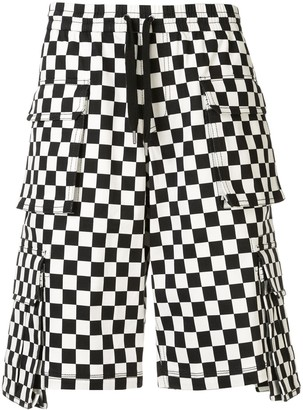 Ports V Checkered Cargo Shorts