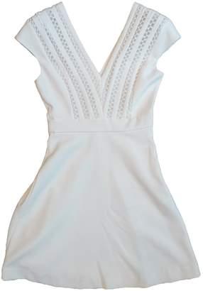 Sandro Spring Summer 2018 White Cotton Dress for Women