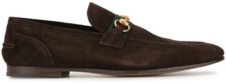 Gucci Pre Owned Shelly Line Horsebit loafers