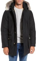 Woolrich Men's Arctic Parka With Genuine Coyote Fur Trim