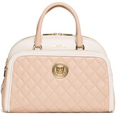 Love Moschino Colorblock Quilted Satchel
