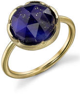 Irene Neuwirth Rose Cut Lapis Ring