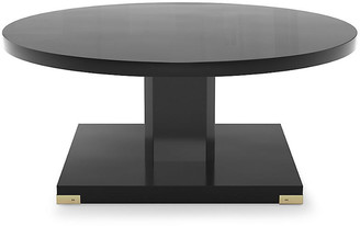 Bunny Williams Home Paxton Coffee Table - Black Lacquer