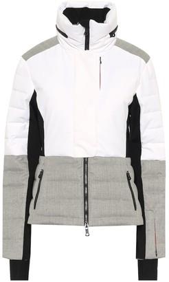 Erin Snow Sari wool-trimmed ski jacket