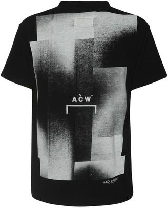 A-Cold-Wall* Graphic Print Cotton Jersey T-Shirt