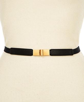 Kollie More Women's Belts Black - Black Slide-Buckle Adjustable Belt