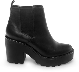 Steve Madden Gretta Black Leather