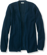 L.L. Bean Women's Bayshore Open Cardigan