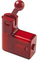 Kuhn Rikon Ratchet Cheese Grater, Stainless Steel, Red