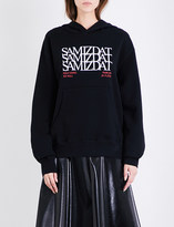 Yang Li Samizdat Sonic Discipline cotton-jersey hoody