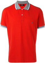 Fay contrast collar polo shirt - men - Cotton - S