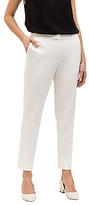 Jaeger Cropped Stretch Trousers, Ivory