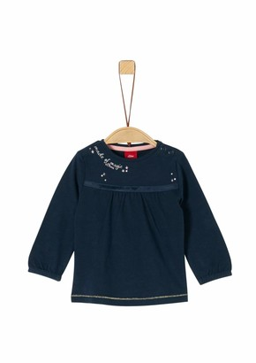S'Oliver Baby Girls' 65.911.31.7732 Long Sleeve Top