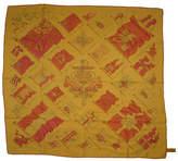 One Kings Lane Vintage Hermès Pavois Dip-Dye Scarf with Box