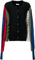 Sonia Rykiel multiple sleeve cardigan - women - Mohair/Polyamide/Wool - M