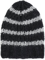 Roberto Collina striped knit beanie