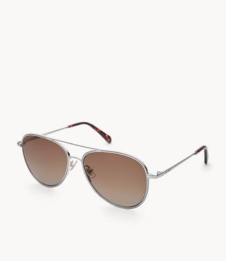Fossil Bennet Aviator Sunglasses Accessories
