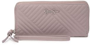 Jessica Simpson Ryanne Quilted Zippered Wallet