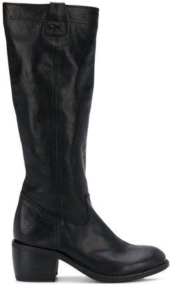 Fiorentini+Baker Mid-Heel Knee-Length Boots