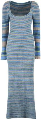 Jacquemus Perou Knitted Long Dress