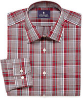 STAFFORD Stafford Travel Long-Sleeve Easy-Care Broadcloth Dress Shirt