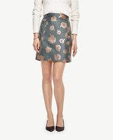 Ann Taylor Gilded Floral Skirt