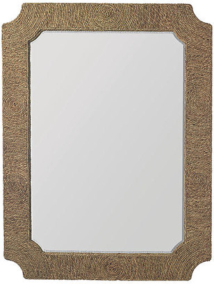 Jamie Young Marina Oversize Jute Wall Mirror - Natural