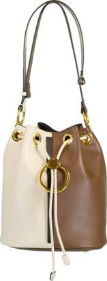 Marni Earring Two-Tone Bucket bag