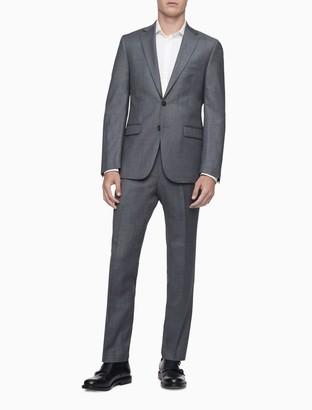 Calvin Klein Slim Fit Heather Grey Pants