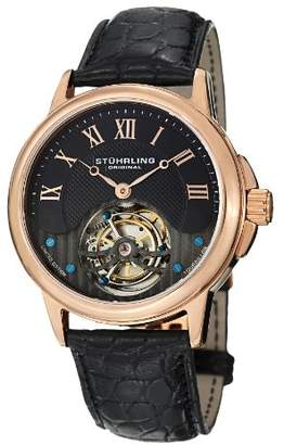 Stuhrling Original Men's 541.334XK1 Aureate Tourbillon Date