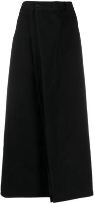 MM6 MAISON MARGIELA Denim Ruffled Skirt