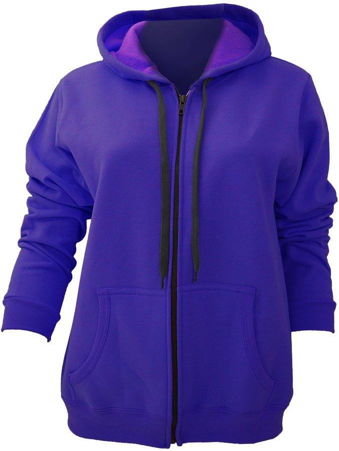 Gildan Ladies/Womens Heavy Blend Vintage Full Zip Hooded Sweatshirt / Hoodie (XL)