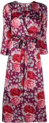 L'Autre Chose Floral Print Dress