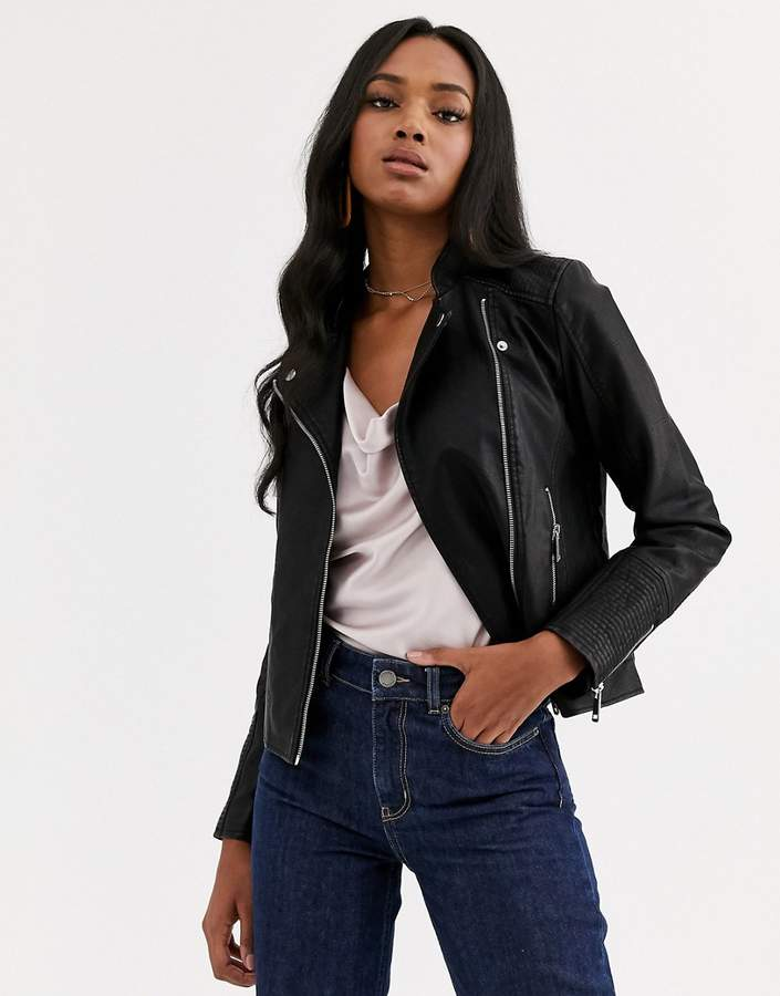 wide selection of designs cheap boy Vero Moda Women's Leather Jackets - ShopStyle
