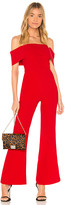 superdown Aubrey Off Shoulder Jumpsuit