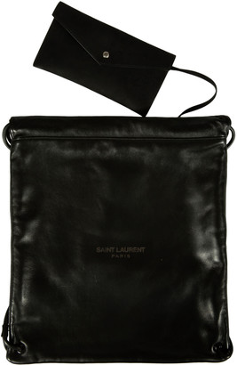 Saint Laurent Drawstring Backpack