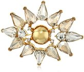 "Trina Turk Sparkle and Shine"" Cluster Brooch and Pin"