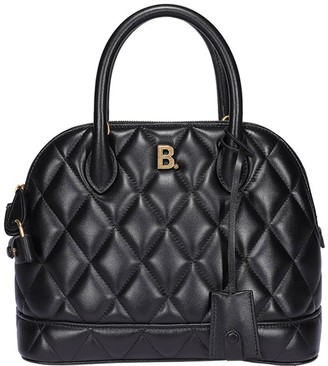 Balenciaga Quilted Top Handle Tote Bag