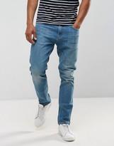 Just Junkies Tapered Jeans In Vintage Wash