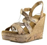Very Volatile Katie Open Toe Synthetic Platform Sandal.