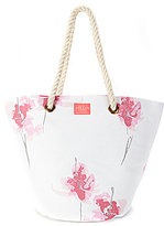 Joules Floral Rope-Handle Summer Tote