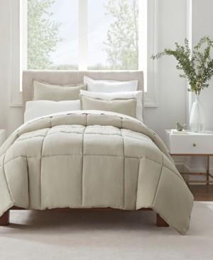 Serta Simply Clean King Comforter Set, 3 Piece Bedding